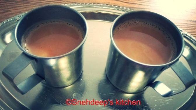 Recipe – Milk Tea