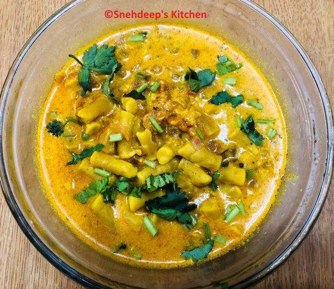 Recipe – Rajasthani Gatte ki sabzi