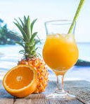 Recipe – Pineapple Orange Fruit Punch / Pineapple & Orange Juice