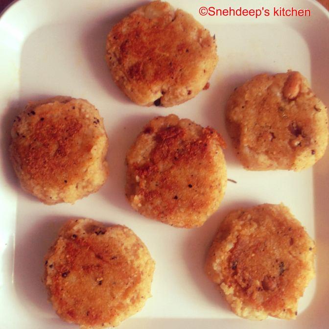 Recipe – Ramdana Cutlets / Moraiyo (Samo) Cutlet / Rajgira Dana Cutlet