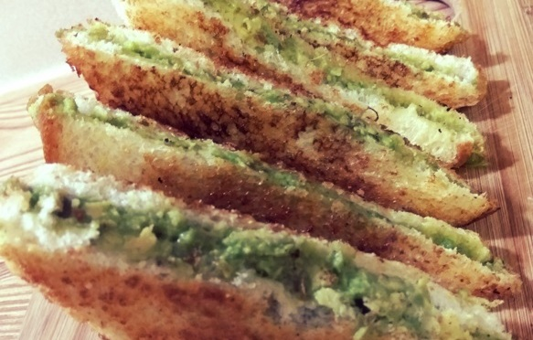 Recipe: Avocado Sandwich