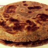 Recipe - Rajasthani Bajra Roti / Pearl Millet Flour Roti