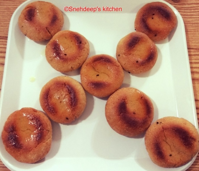 Recipe – Rajasthani Dal Baati / Marwari Dal Bati