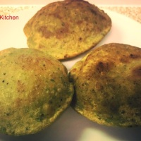 Recipe – Matar Poori / Green Peas Puri / Puffed Indian Bread