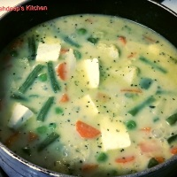 Recipe -  Vegetarian Green Thai Curry