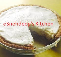 Recipe – Cream Cheese Pie