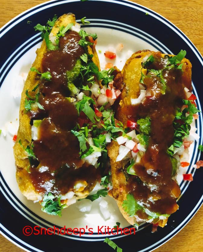 Recipe – Cut Mirchi Chaat
