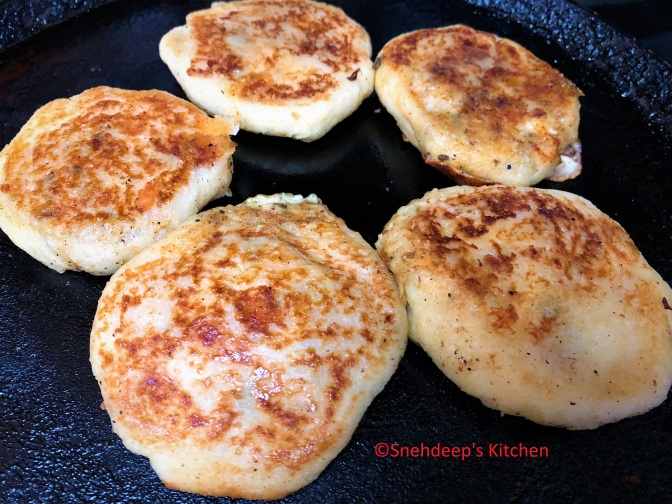 Recipe – Cheese Bread Tikki