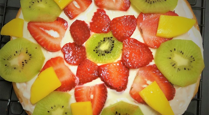 Recipe – Fresh Fruit Cake