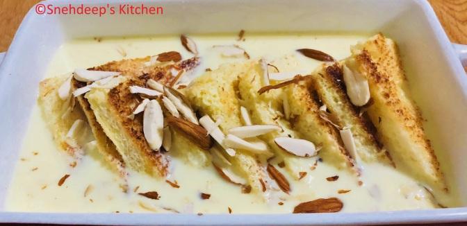 Recipe – Shahi Tukda