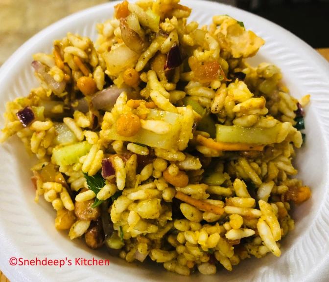 Recipe – Bhel Puri / Murmura chaat