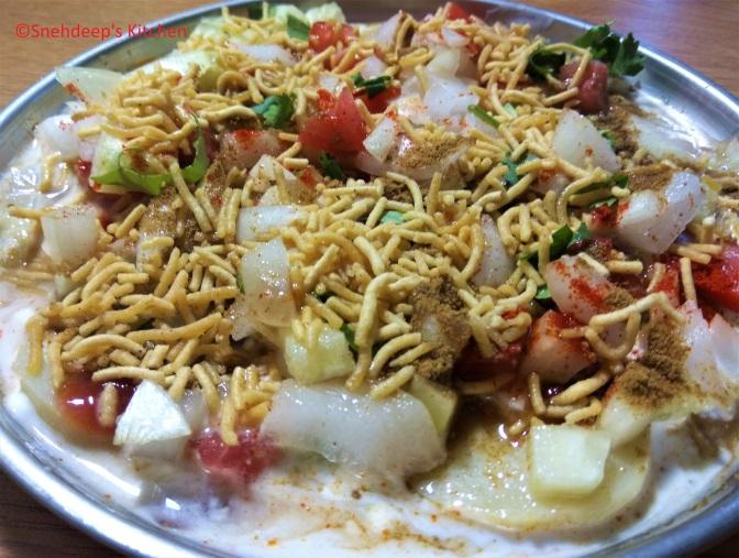 Recipe – Boiled Aloo Chaat