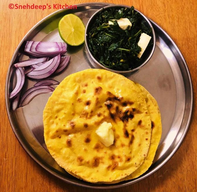Punjabi Sarson Ka Saag & Makki Di Roti