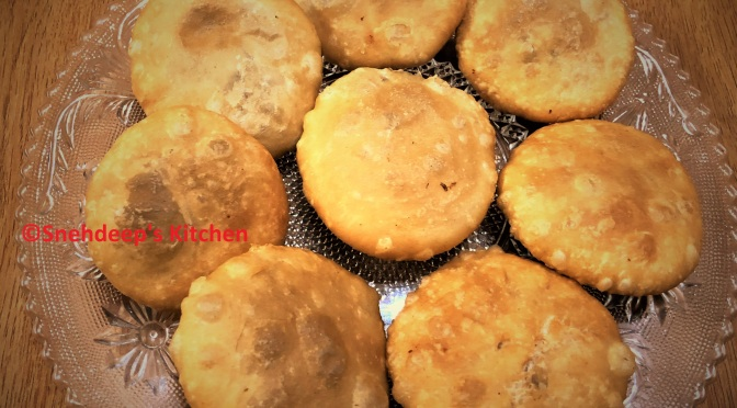 Recipe – Khasta Moong Dal Kachori