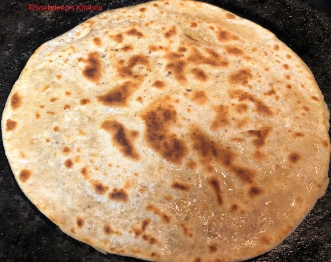 Recipe – Chia Seeds' Paratha