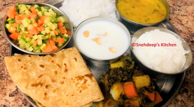 Daily Lunch/Dinner Combo Thali – 2