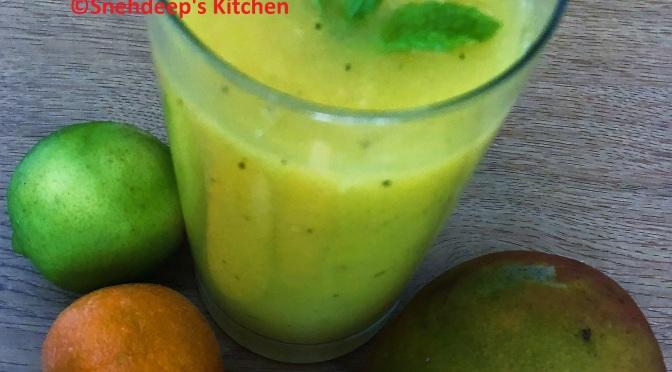 Recipe – Mango Orange Fruit Punch