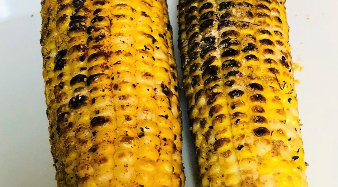 Recipe – Roasted Corn Cobs