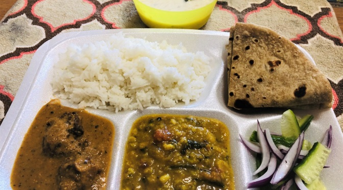 Home-Cooked North Indian Thali – 4