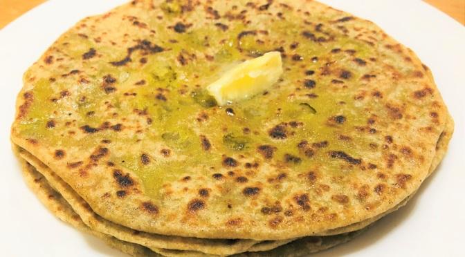 Recipe  – Matar Paratha