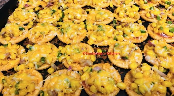 Recipe – Corn Cheese Monaco Bites