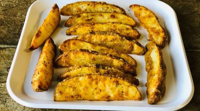Recipe – Baked Potato Wedges